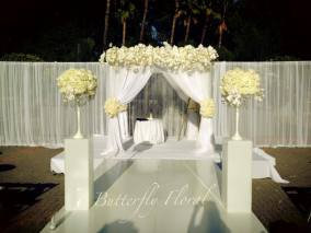 Wedding Gazebo Draping