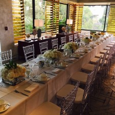 clear ghost chiavari chairs rental los angeles san diego