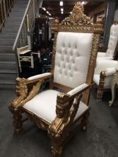Extra Large King Throne Chair