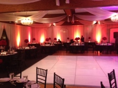 pipe and draping rental los angeles-The Reef Long Beach Up Lighting