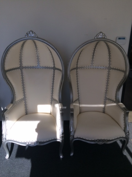 Canopy Style Throne Chairs