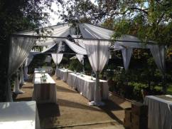Tent Frame Draping Rental Whittier CA