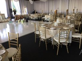 Gold Chiavari Chair Rental The reef Long Beach