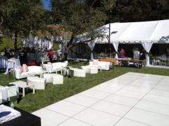 White Lounge Furniture Rental Los Angeles