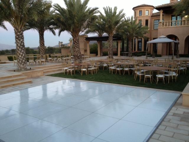 White Dance Floor Rental Los Angeles San Diego Orange County Inland Empire