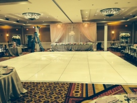 White Dance Floor Rental Los Angeles San Diego Orange County Inland Empire